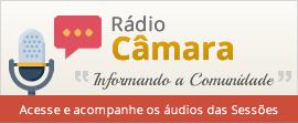 Banner com link para a Rádio